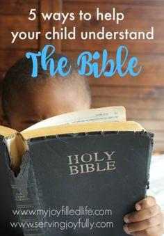 Help Your Child Understand Scripture