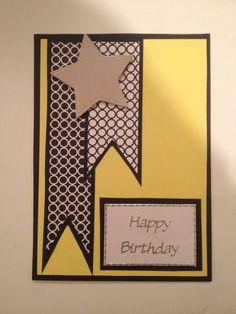 Man's birthday card