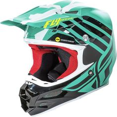 Fly Racing Unisex-Adult Full-face-Helmet-Style F2 Animal Blue//White//Red X-Large
