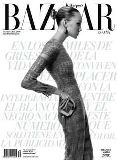Heather Marks - Un Nuevo Desafío -  Harpers Bazaar Spain December 2012  Xevi Muntané  www.xevimuntane.com  via harpersbazaar.es    for #composition #motion