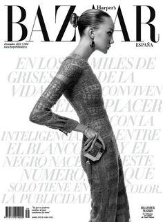 Heather Marks - Un Nuevo Desafío -  Harpers Bazaar Spain December 2012  Xevi Muntané  www.xevimuntane.com  via harpersbazaar.es    for #composition #motion