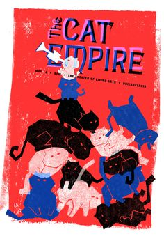 The Cat Empire Poster
