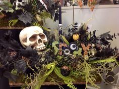 Turn those green tag per mades into Halloween fun..design by Andi (9989) 2014