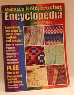 McCalls Knit  crochet Encyclopedia 1977 Hobbies   Crafts, English, Paperback fc64590288