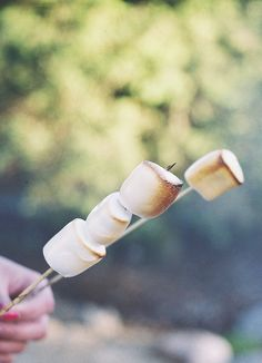 who doesn't love roasted marshmellows