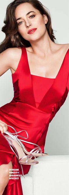 Dakota Johnson for intimissimi Lingerie