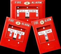 Fire Alarm light switch cover plate, funny man cave, dorm, bedroom decor | Home & Garden, Home Improvement, Electrical & Solar | eBay!