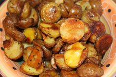 """I called them """"Circle Fries"""" for the kids, roasted with olive oil, rosemary, s&p. DONE! #semantics #kidfood"""