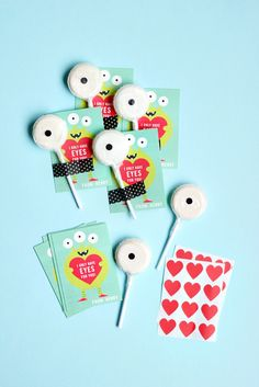 DIY Valentines - Only Have Eyes For You