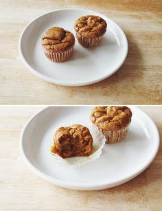 Moist Pumpkin Protein Muffins » Git Fit Mama