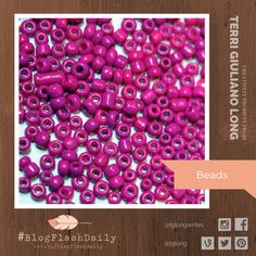 Today's creativity prompt is BEADS. prompts are provided every weekday by author Terri Giuliano Long. Writing Art, Prompts, Art Photography, Creativity, Beads, Blog, Beading, Fine Art Photography, Bead
