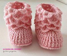 Magic Crochet: BEBE booties
