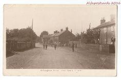 Norfolk Helhoughton Street nr Fakenham Real Photo Vintage Postcard 18.4 in Collectables, Postcards, Topographical: British   eBay