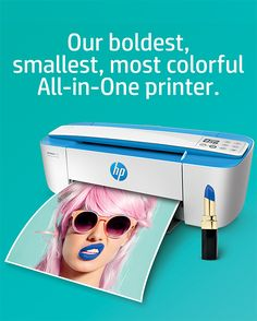Introducing the new DeskJet 3700—a bold, compact, colorful All-in-One printer 😍😍