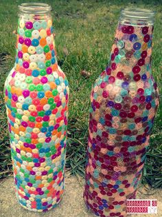 DIY wine bottles- refresh your interior design! Play with kids! Be creative! Check on www.gotowanietokochanie.blogspot.com