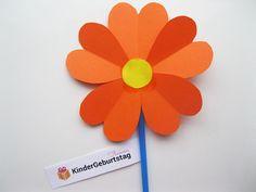 Blumen aus Papier basteln
