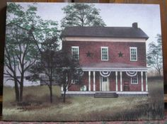 "The Old Tavern House - Billy Jacobs 12"" by 16"" canvas print at the Cottage Gift Shop - Elmira, NY (currently out of stock)"