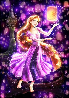 Tenyo Disney Princess Rapunzel Tenyo Disney Japan Jigsaw Puzzle Origin : Japan (Made in Japan) Piece : 266 pcs (small pieces) Finished Size : x cm Remarks : Transparent Stained Art and Gyutto Size Mini Puzzle Batch Ref : Princesa Rapunzel Disney, Anime Disney Princess, Rapunzel Flynn, Disney Princess Drawings, Disney Princess Pictures, Princess Cartoon, Princess Rapunzel, Disney Tangled, Disney Pictures