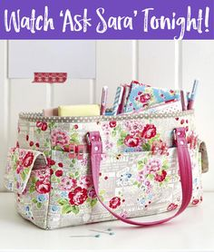 Get the Sew Sweetness Oslo Bag Pattern FREE and join me on 2/27/18 for my Facebook LIVE to sew this pattern along with me!