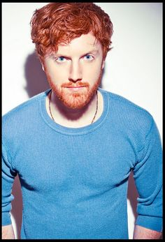 Ginger, redhead ~ Redhead guys don't get enough credit.