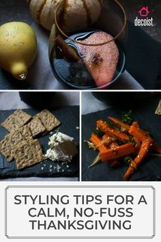 This table decoration and key recipes for drinks and appetizers are sure to have your thanksgiving table happy Thanksgiving Table, Appetizers, Calm, Key, Table Decorations, Drinks, Happy, Recipes, Fashion Tips