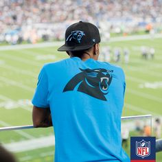 a32a78b4f  NFLFanStyle  contest Put the team on your back with this Carolina Panthers  blue tee