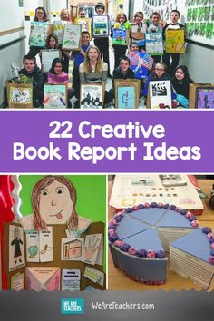 22 Creative Ways Kids Can Respond to Books. Book reports don't have to be boring. Help your students make the books they read come alive with these 22 creative book report ideas and examples. Book Report Projects, Reading Projects, Book Projects, Reading Resources, Reading Activities, 3rd Grade Books, 4th Grade Reading, Book Presentation, We Are Teachers