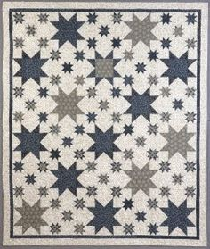 Civil War Quilts: Stars in a Time Warp 19: Serpentine Stripes