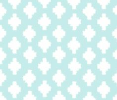 Beyond the Sea Ikat fabric by threeyellowplums for sale on Spoonflower - custom fabric, wallpaper and wall decals