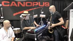 NAMM Show Canopus Drums Session by Jon Hammond