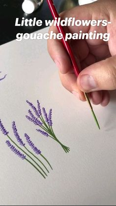 Pencil Art Drawings, Art Drawings Sketches, Easy Drawings, Pencil Art Love, Doodle Drawings, Art Floral, Flower Art Drawing, Simple Flower Painting, Simple Flower Drawing