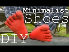 DIY Minimalist Shoes...must try!