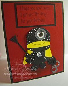"Porch Swing Creations: Happy Birthday from ""Mr. Grey""..."