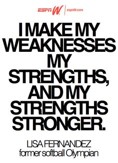 Make strengths stronger. #espnW