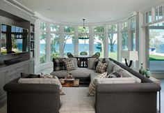 Beach House - beach-style - Family Room - Other Metro - Highgate Builders