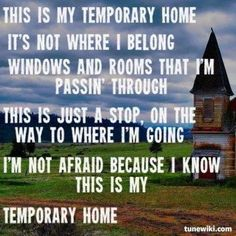 Carrie Underwood - Temporary Home Lyrics   MetroLyrics
