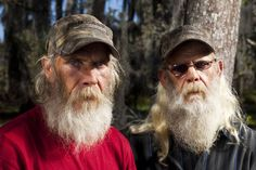 Glen and Mitchell - never a dull moment on Swamp People...  I totally love these two.  They make you a more humble person.  Love their love for each other.