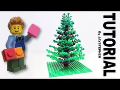 Tutorial on a realistic pine spruce tree constructed out of LEGO. The pine spruce tree contains 175 bricks which are listed below. Lego Christmas Train, Christmas Tree, Christmas Ornaments, Lego Tree, Lego Furniture, Lego Craft, Spruce Tree, Lego Projects, Lego Stuff