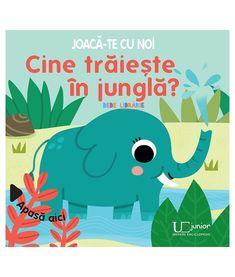 Joaca-te cu noi. Cine traieste in jungla? Bindi, Pikachu, Illustration, Books, Movie Posters, Fictional Characters, Art, Products, Art Background
