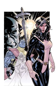 Kitty Pryde & the X-Men by Terry Dodson  Love me some Kitty Pryde.
