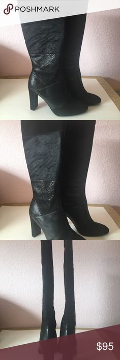 f20b156e03c9 Brand new Anne Klein multi leather boots Brand new never worn Anne Klein  jamielee multi leather. Anne Klein ShoesShoes Heels ...