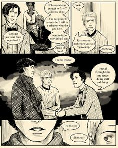 SuperWhoLock: The Comic First < 137 >