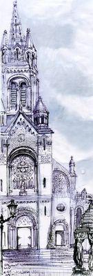 02.03.2015 - Église Ste Croix - Ménilmontant (Paris, 20è arr.) © Laetitia Hildebrand