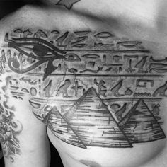30 hieroglyphics tattoo designs for men ancient egyptian ink ideas throughout the brilliant egyptian symbols tattoos designs with regard to tattoo art Egyptian Symbol Tattoo, Egyptian Cat Tattoos, Egyptian Tattoo Sleeve, Egyptian Symbols, Osiris Tattoo, Horus Tattoo, Anubis Tattoo, Bastet Tattoo, Hamsa Tattoo