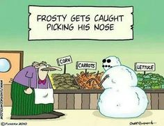 Funny pictures about Frosty goes to the supermarket. Oh, and cool pics about Frosty goes to the supermarket. Also, Frosty goes to the supermarket. Haha Funny, Funny Jokes, Funny Stuff, Funny Pix, Grammar Jokes, Kid Jokes, Funny Links, Fun Meme, Lame Jokes