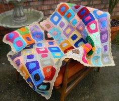 Ravelry: Do It Your Way Scrap Afghan pattern by Elizabeth Mareno