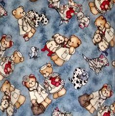 Scrubs White Cross Top Vet Nurse Teddy Bear Dogs Cats Short Sleeve Pullover #WhiteCross
