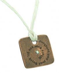 Inspirational Jewelry | Quote Jewelry | Buddha Quote Bracelet...cool stuff!