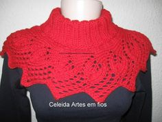 Leaves #knit  #purl #leaf #red