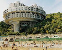 The Druzhba health spa in the Ukranian resort Yalta.